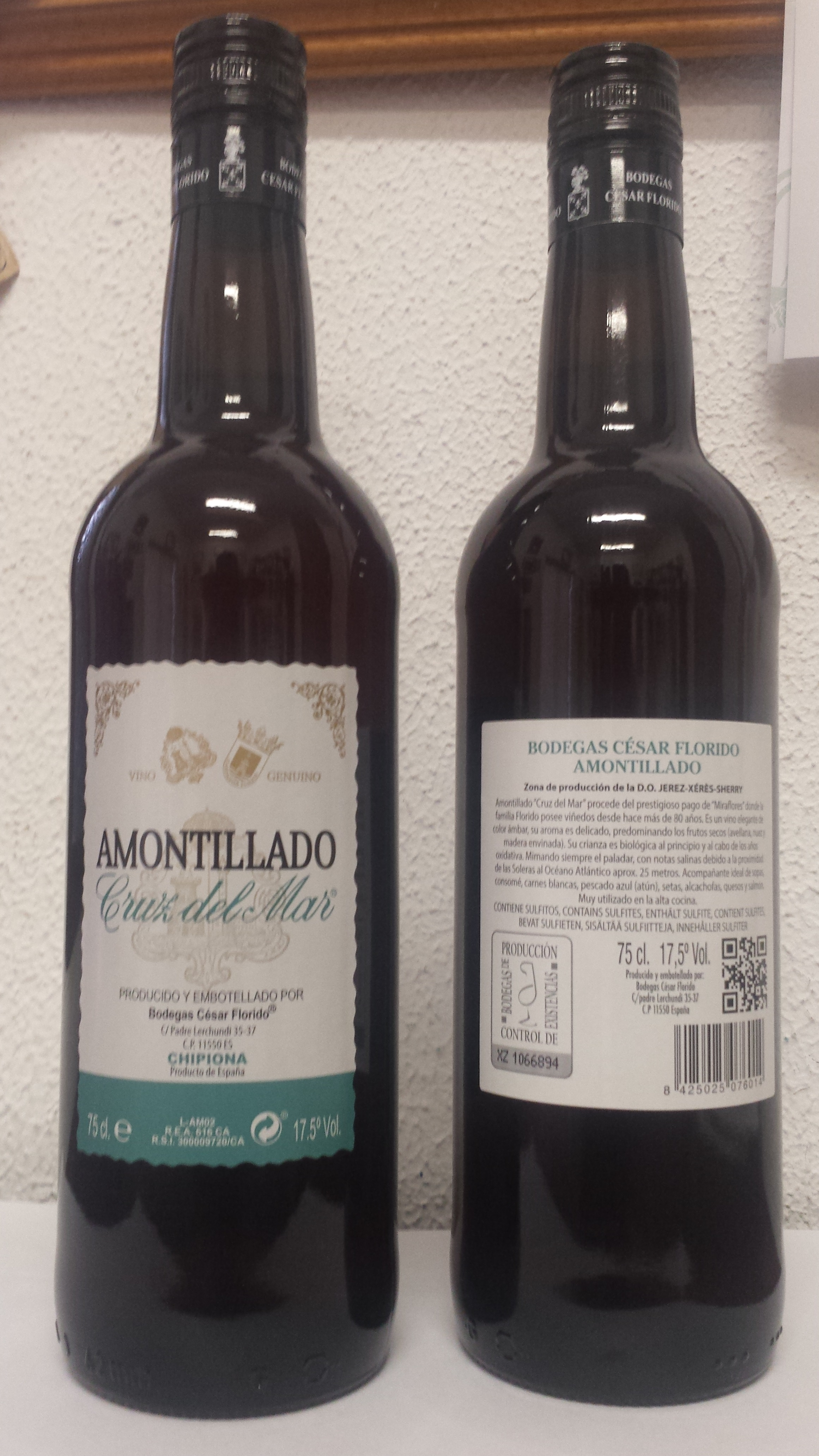 "Amontillado ""Cruz del Mar"""