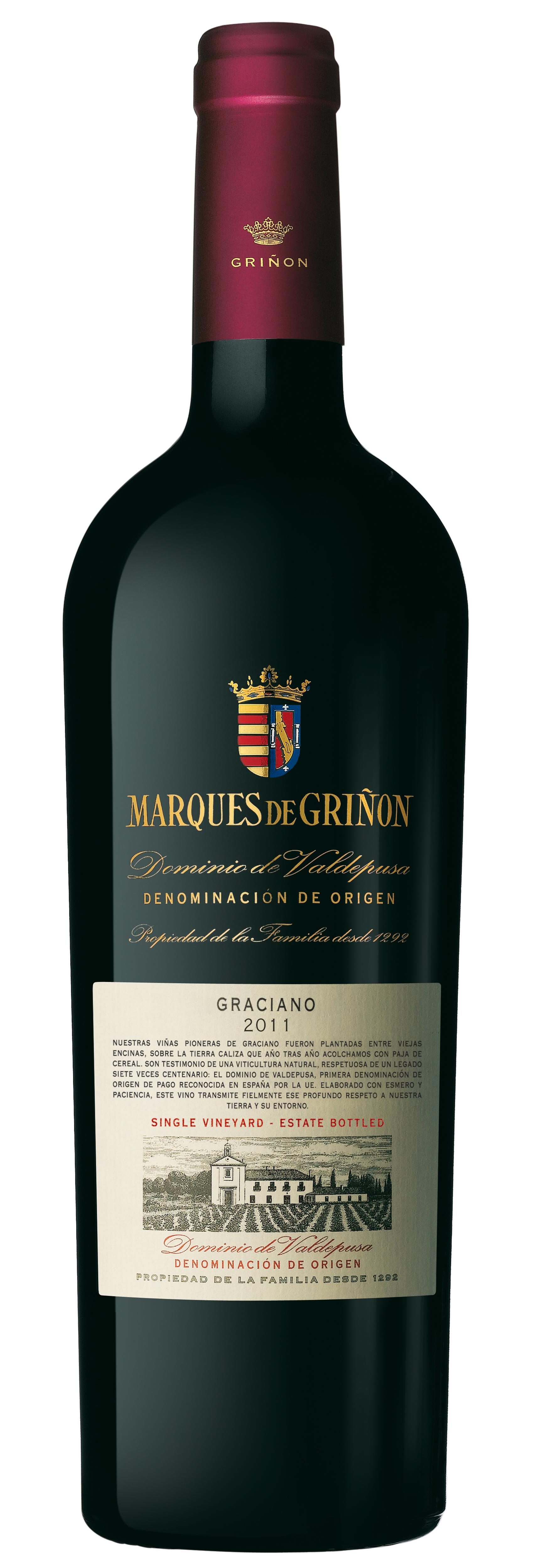 Marques de Griñón Graciano 2012