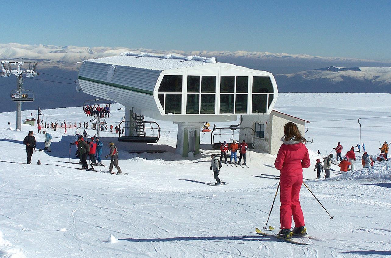Estación de Esquí de Manzaneda. Foto: cedida por Turismo de Galicia