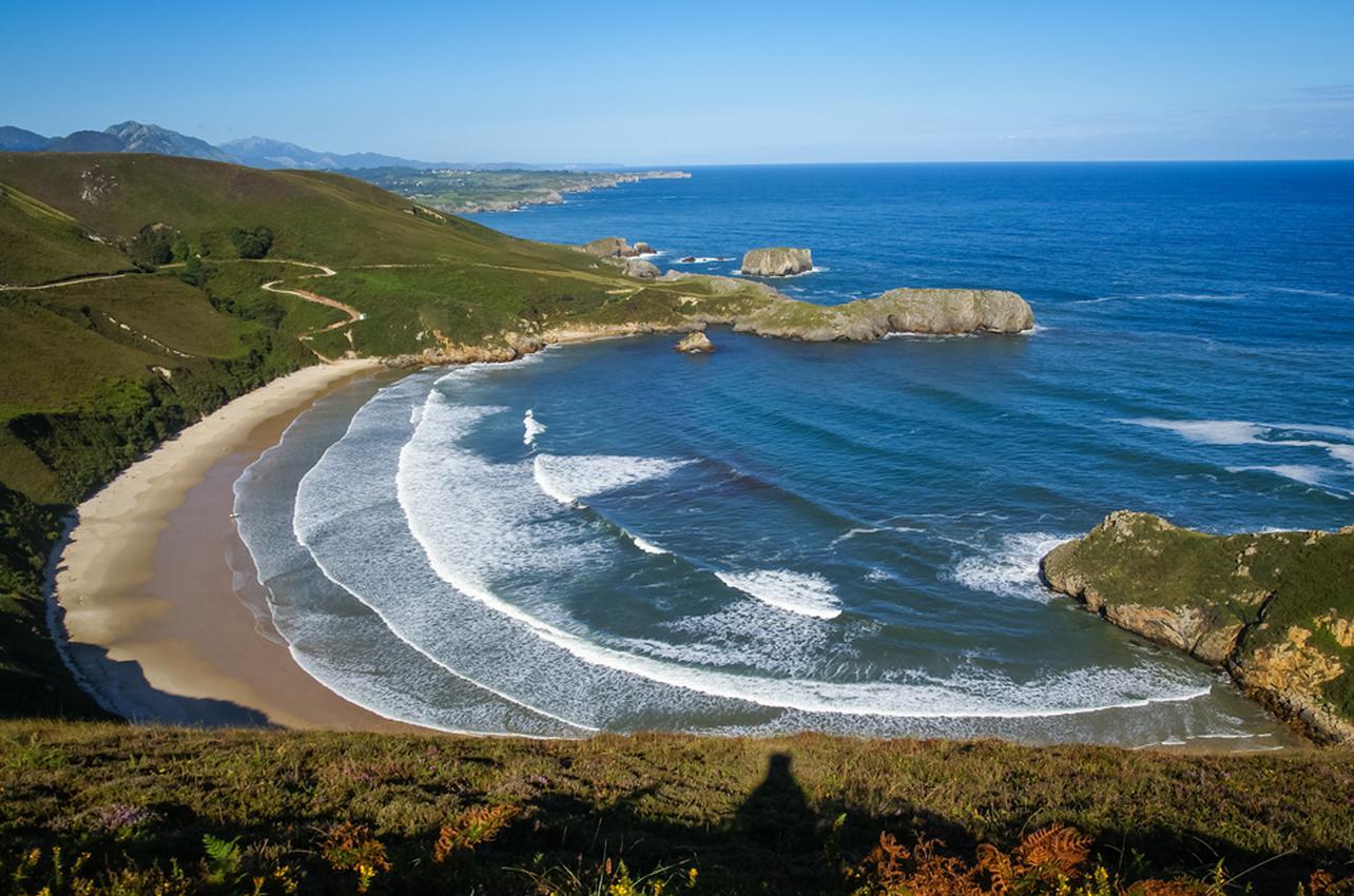 Playa de Torrimbia. Foto: shutterstock.com.