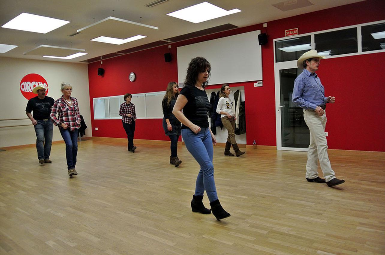 Así bailan los vaqueros. Foto: Círculo de Baile
