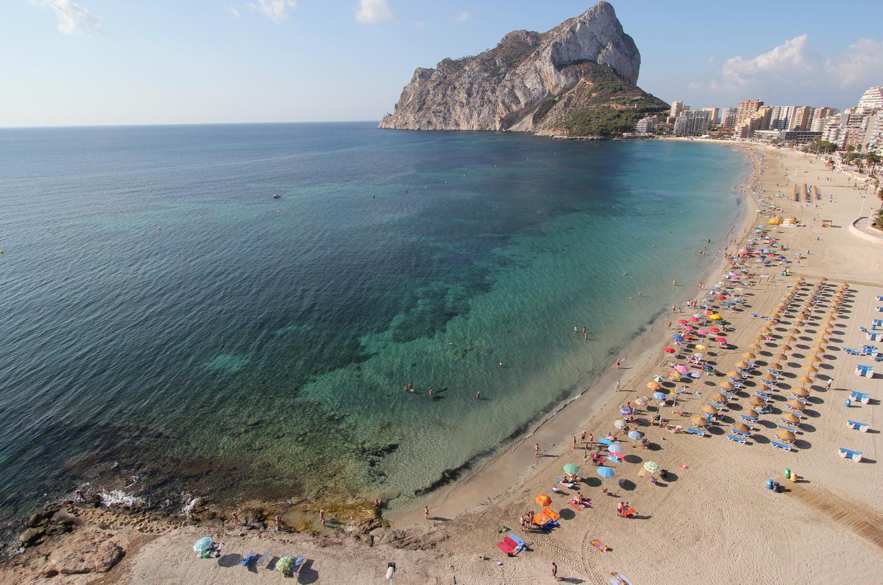 Playa Fossa. (Foto: Ayuntamiento de Calpe.)