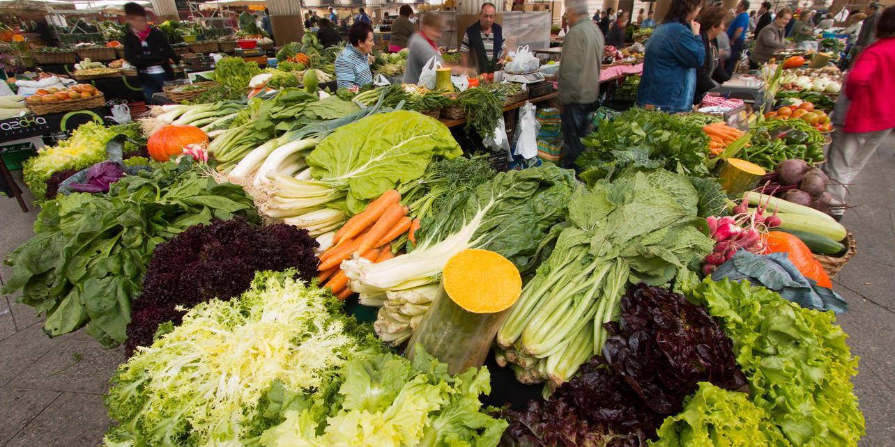 Mercado semanal de Ordizia