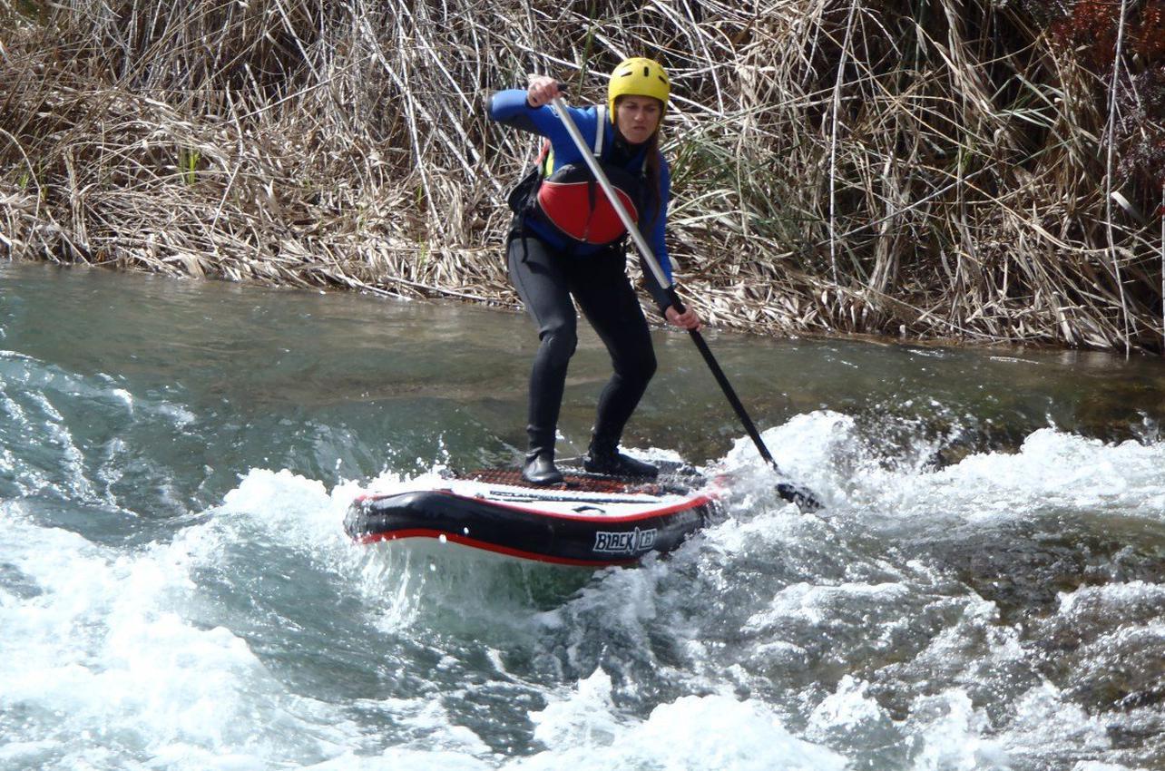 Paddle Surf en río en Venta del Moro