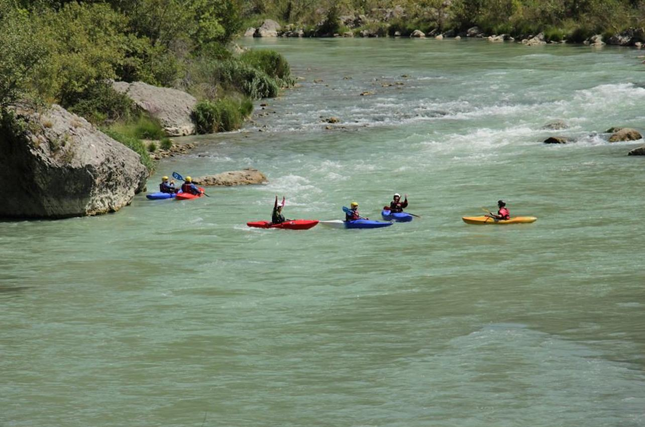 Open-Kayak en el río Gállego en Murillo de Gállego