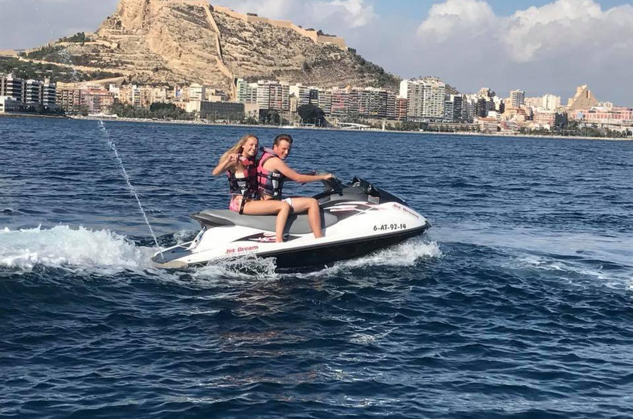 Motos acuáticas en Alicante
