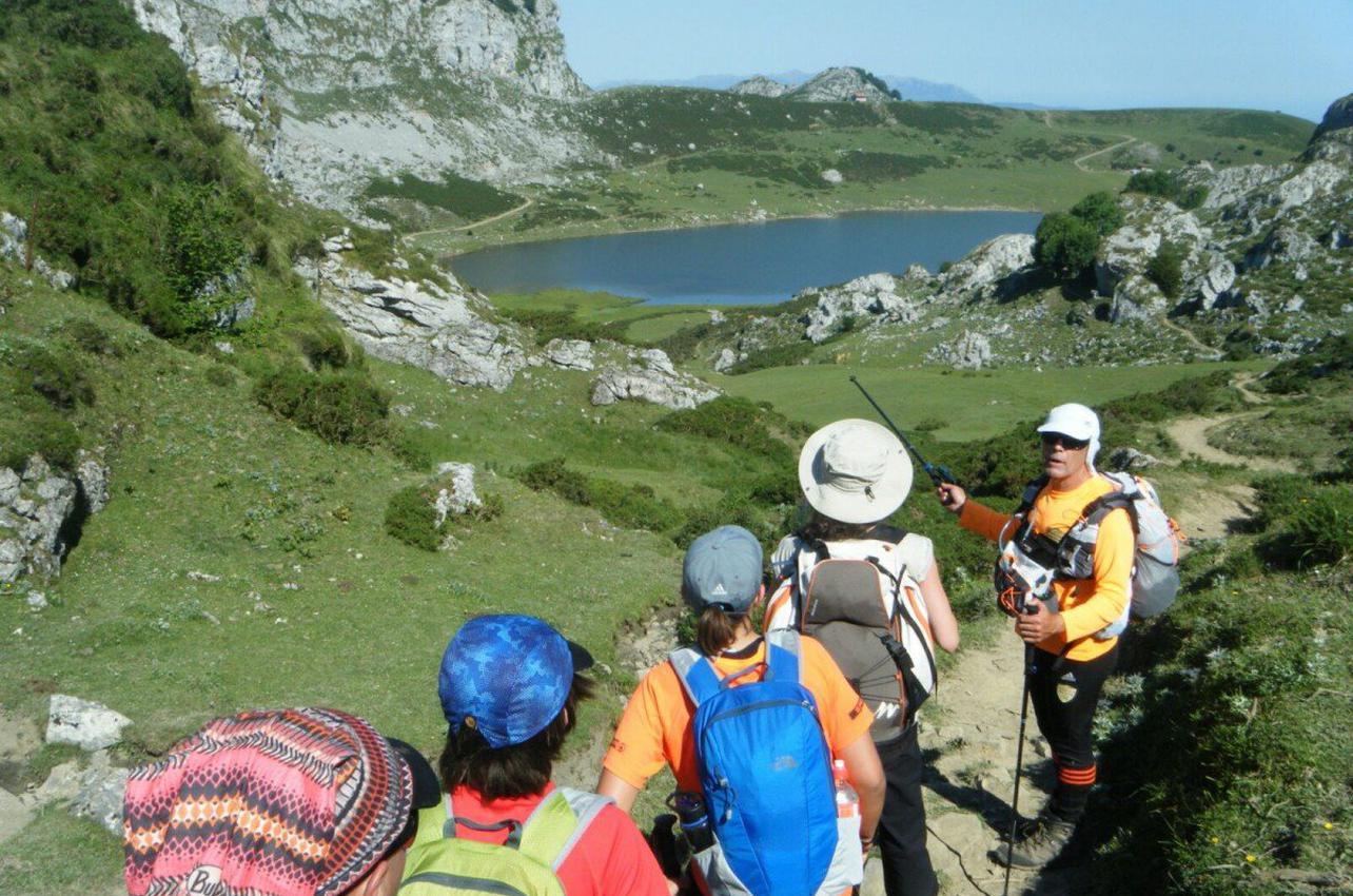 Anillo Tres Macizos en el Parque Nacional de Picos de Europa