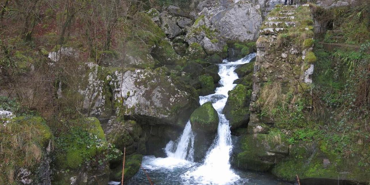Nacimiento del río Larráun