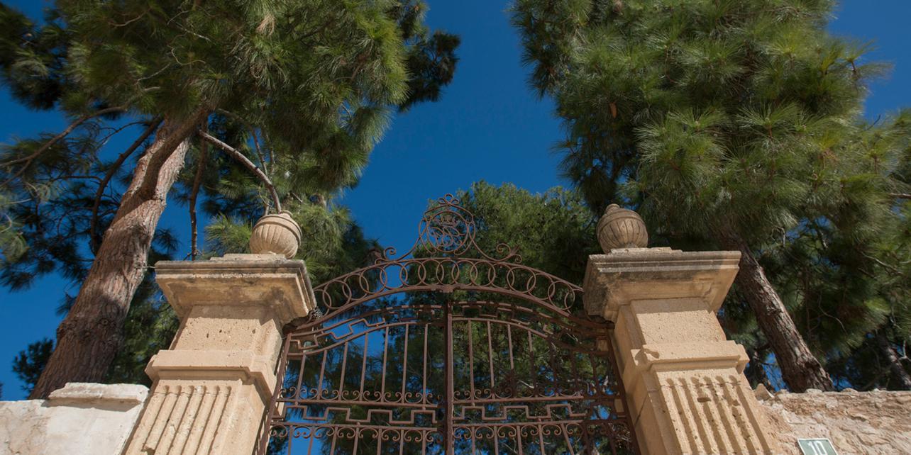 Palacio de Peñacerrada y jardines