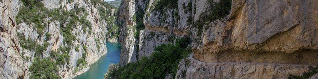 1/2 via ferrata en el Congost de Mont-Rebei