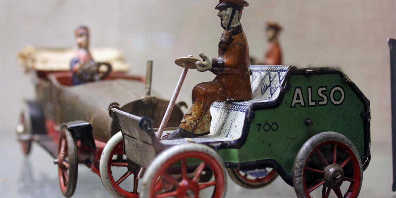 Museo de figuras y juguetes antiguos
