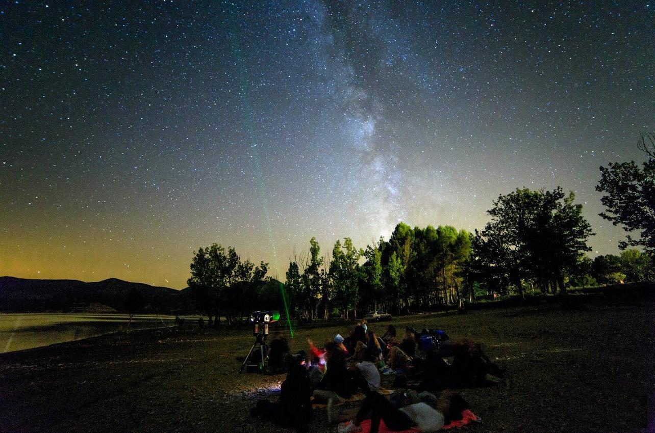Observación astronómica en el Pallars Sobirà