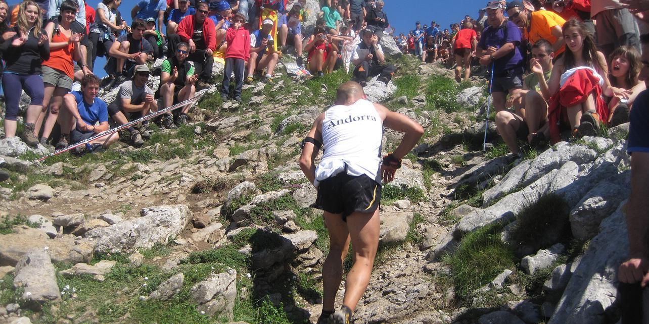 Maratón de montaña Zegama-Aizkorri