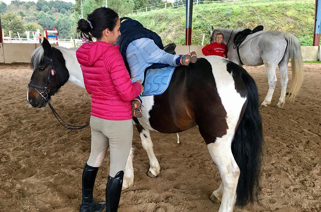 A los niños les encantan los ponies. Foto: Beatriz Vigil.