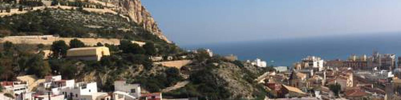 Alicante Old Town Residence with amazing sea view