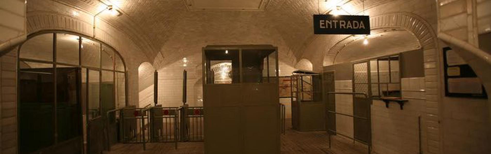 Museo Chamberí. Estación Fantasma