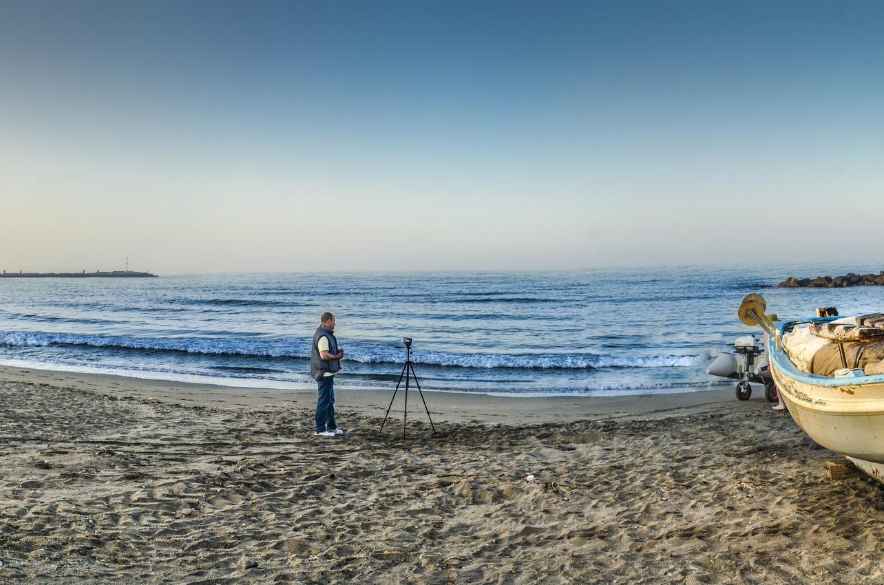 Playa Nueva Almería. (Foto: Ayuntamiento de Almería.)
