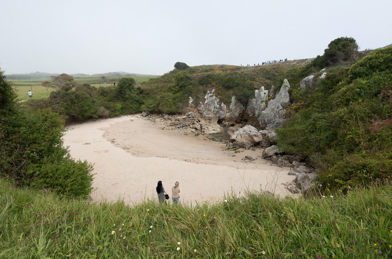 Playa de Gulpiyuri. Foto: José Ramón García.