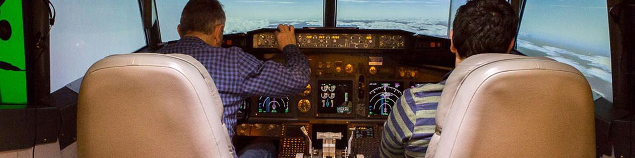 Pilotar una avioneta sin despegar