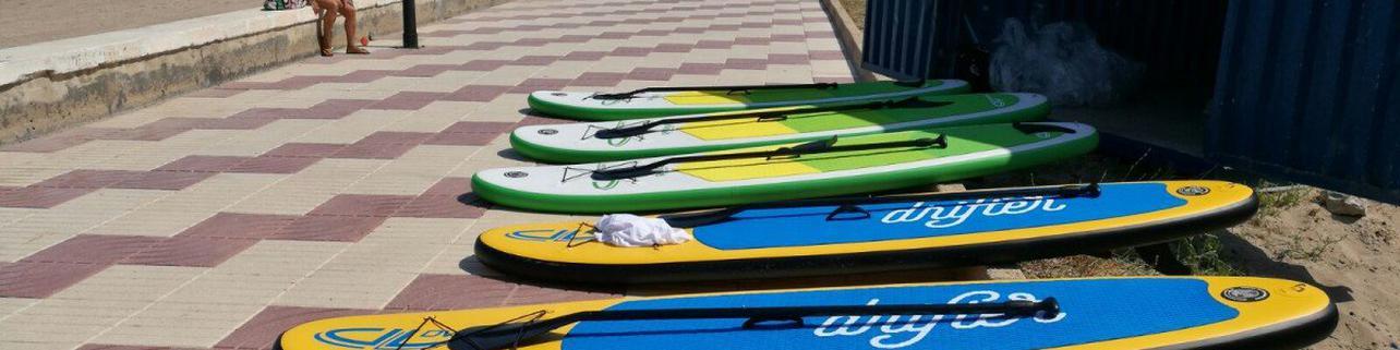 Alquiler de Paddle surf en la costa valenciana