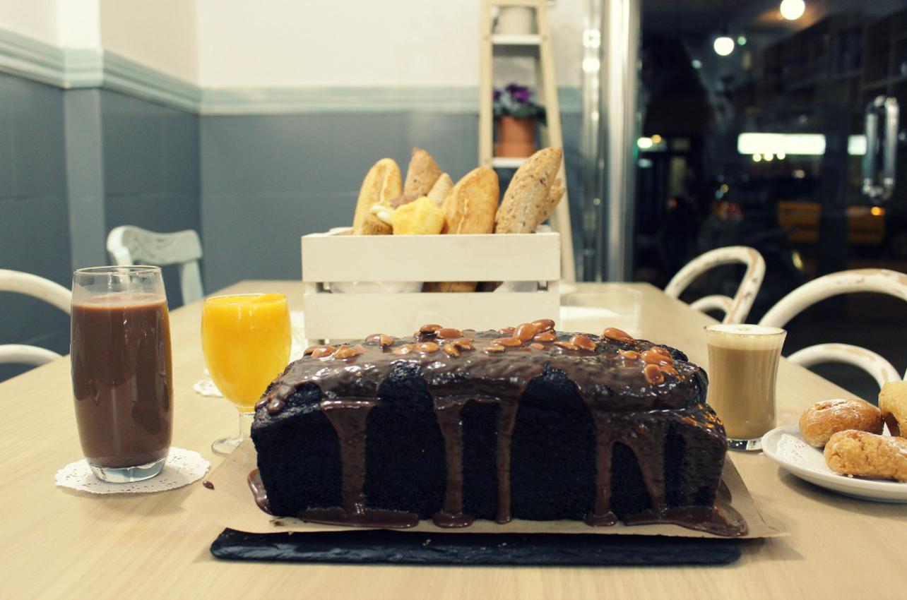 Brownie sin gluten de Gula Sana. Foto: Belén Parra.