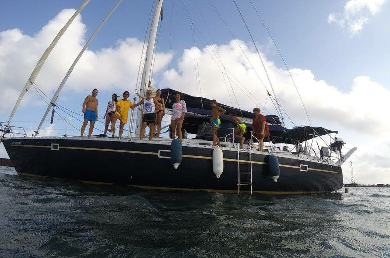 Navegación por el Mediterráneo en Murcia