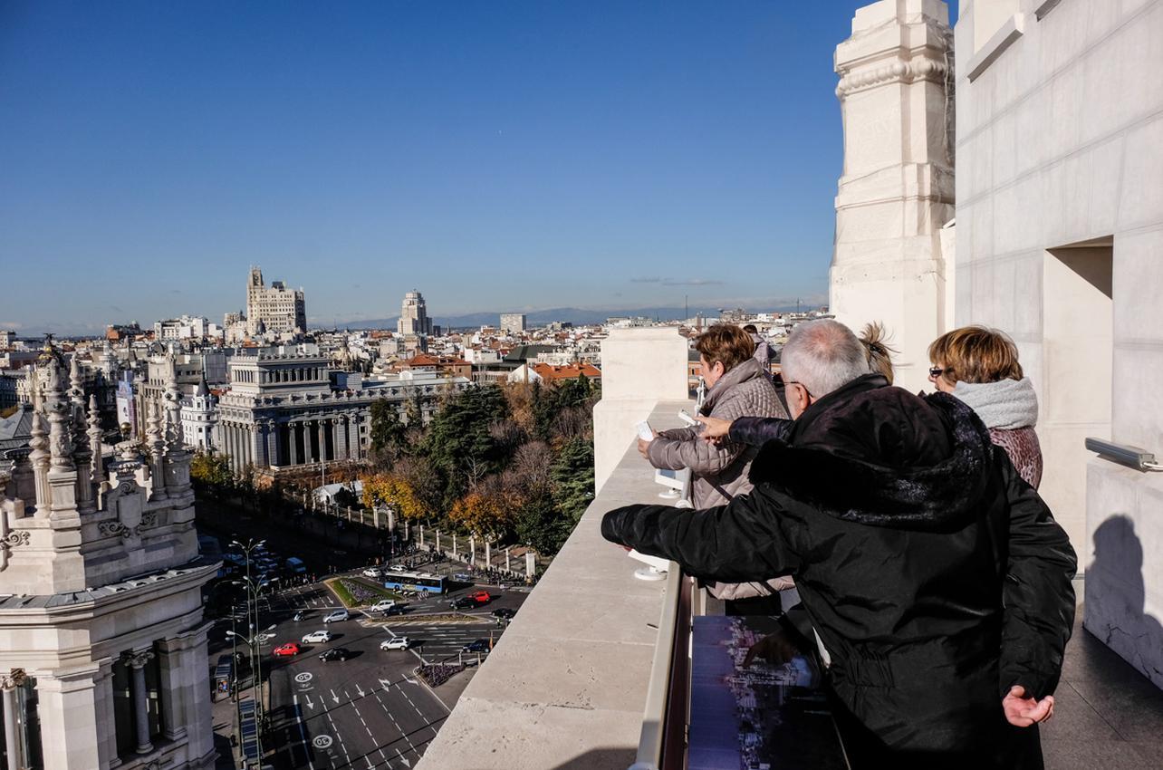 El mirador del Ayuntamiento de la capital es gratuito el primer miércoles de cada mes. Foto: Hugo Palotto