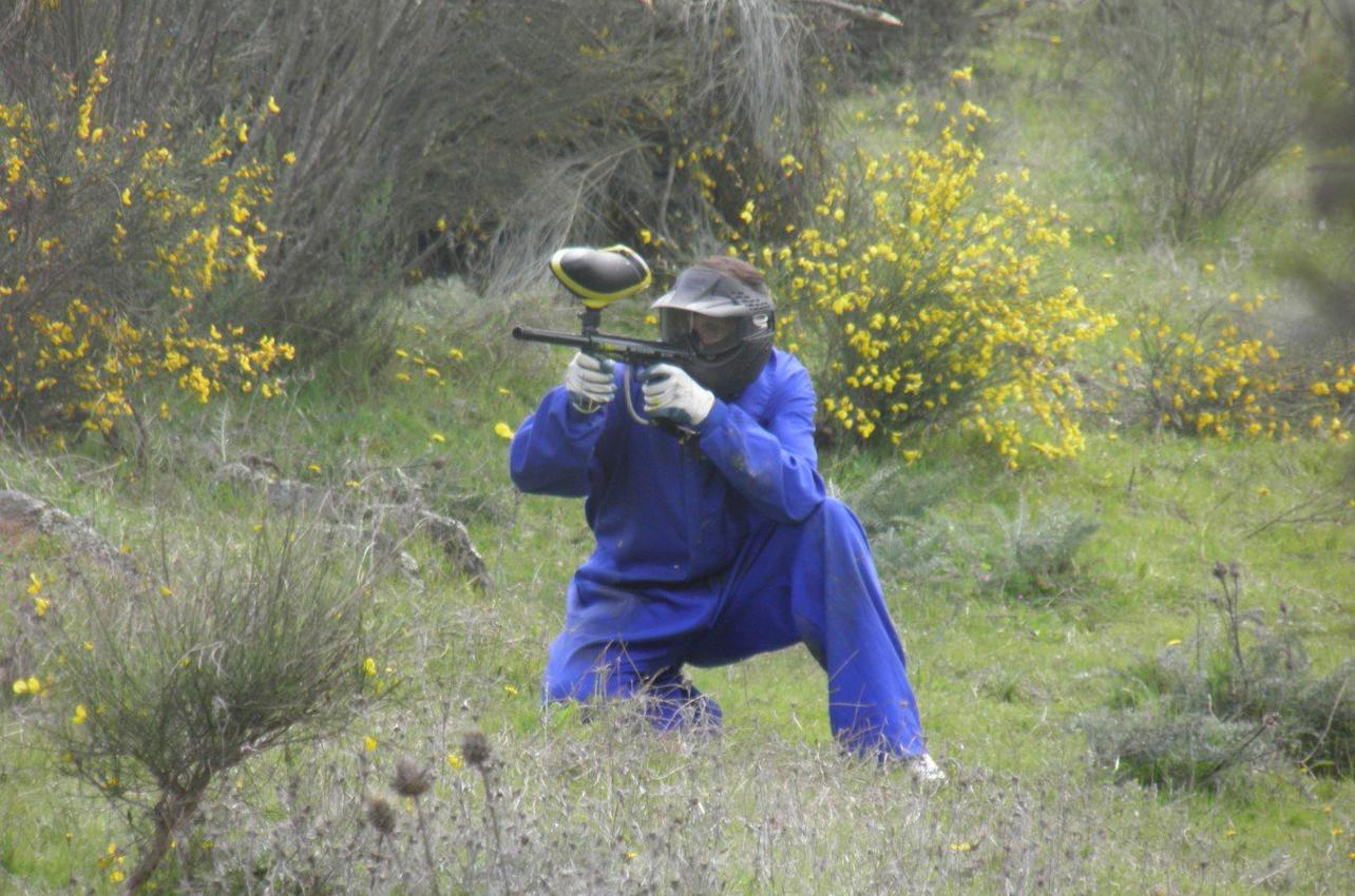 Paintball en Alcántara