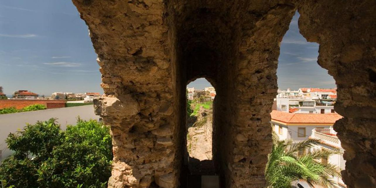 Alcazaba y muralla árabe