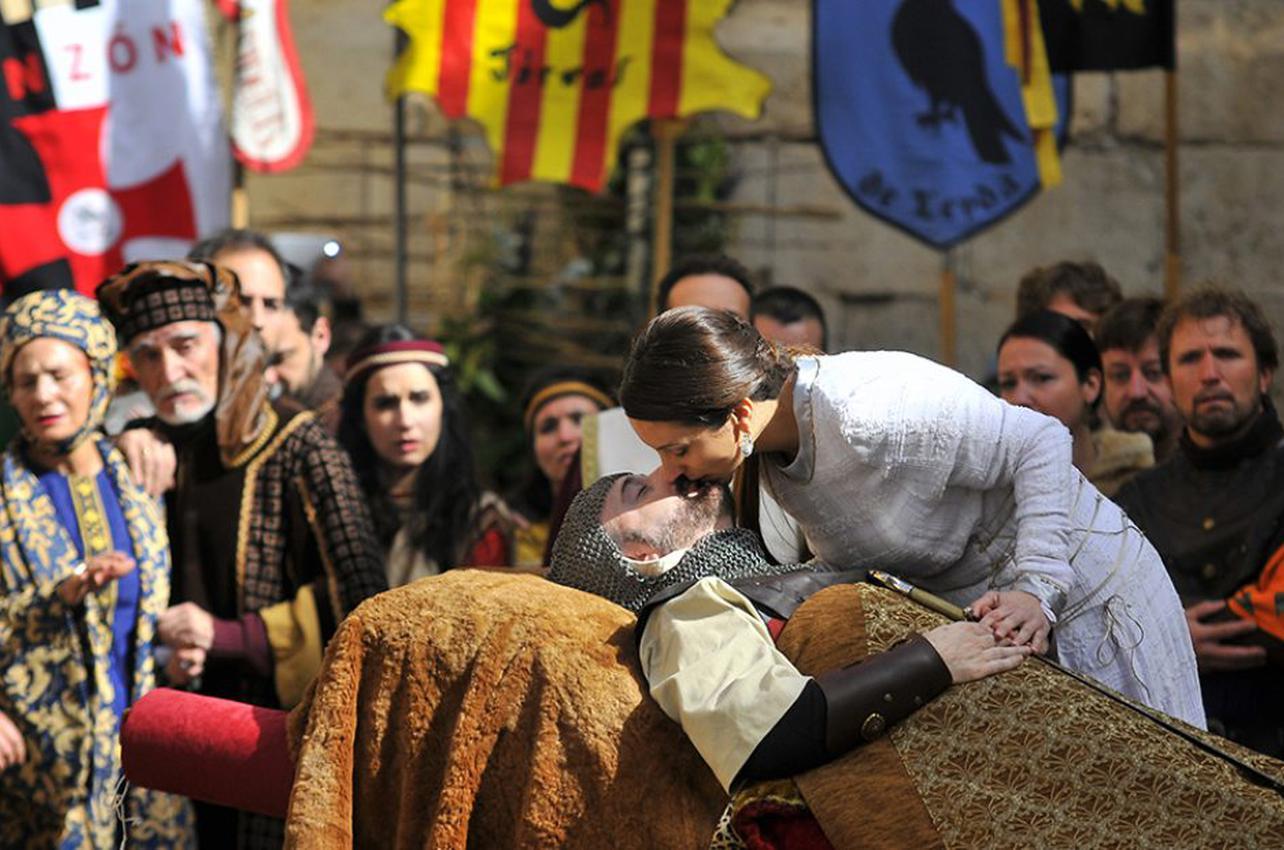 Representación de 'Las bodas de Isabel de Segura'. Foto: Diego & Lori