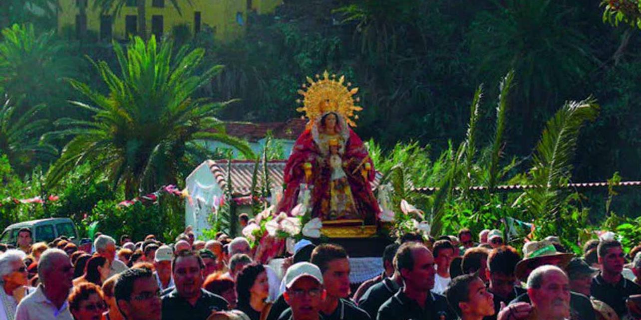 Bajada de Nuestra Señora de los Reyes en Valle Gran Rey