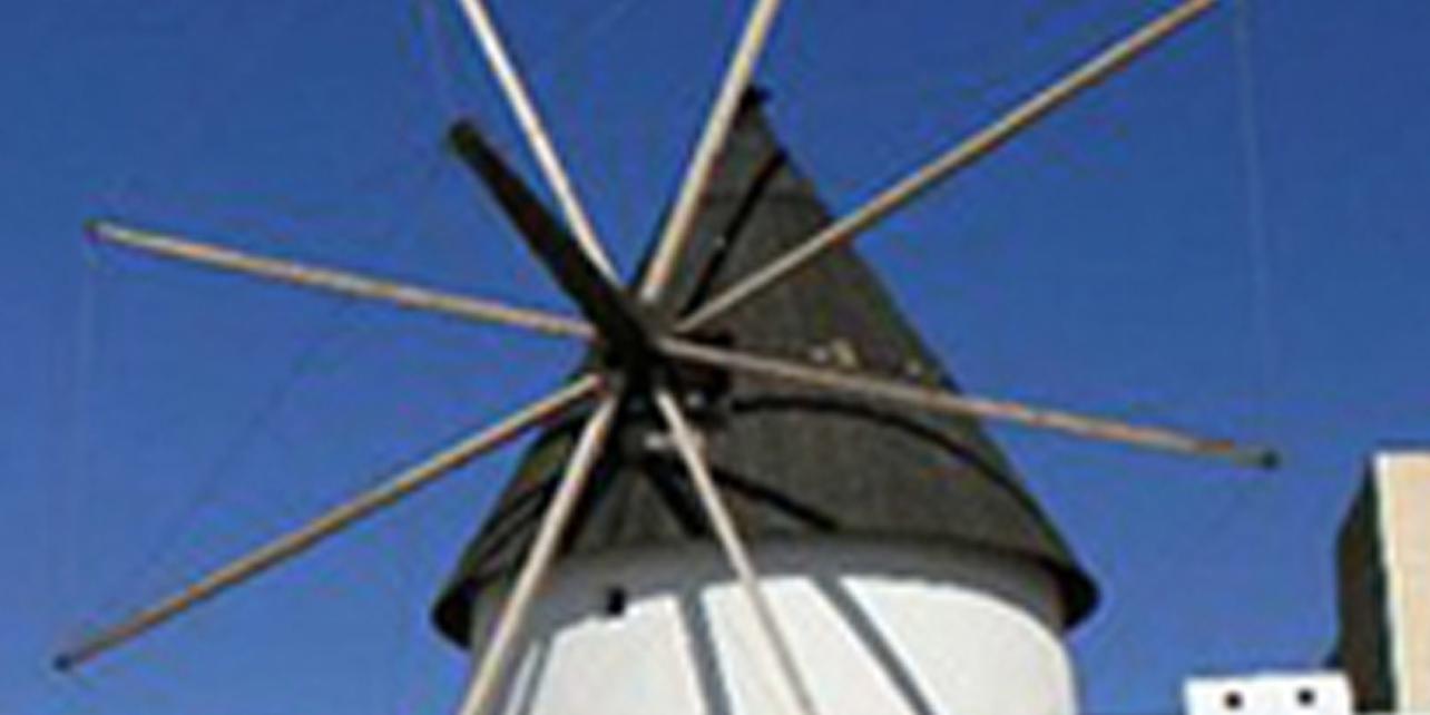 Molino de viento- sala de exposiciones