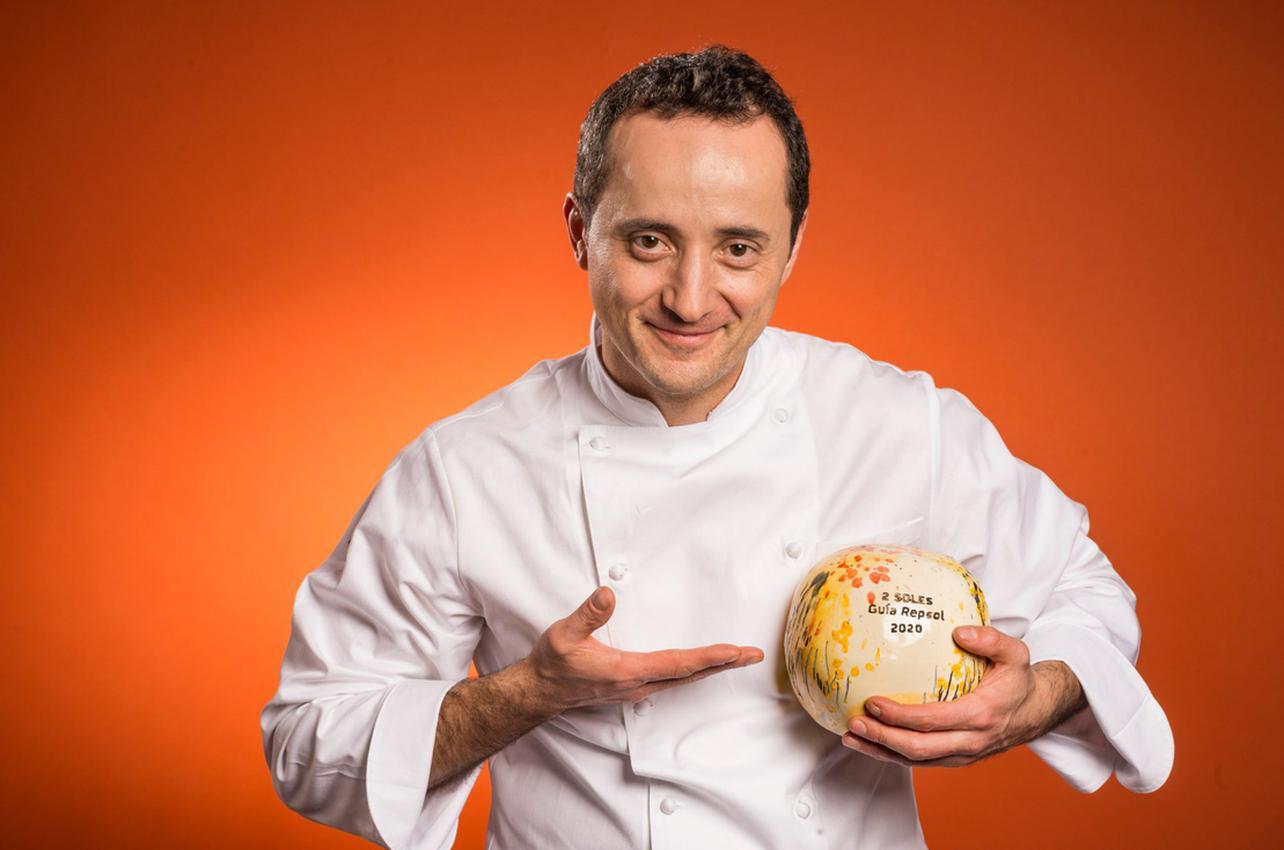 David Arauz con su 2 Sol por 99 Kô Sushi Bar conseguido en 2020