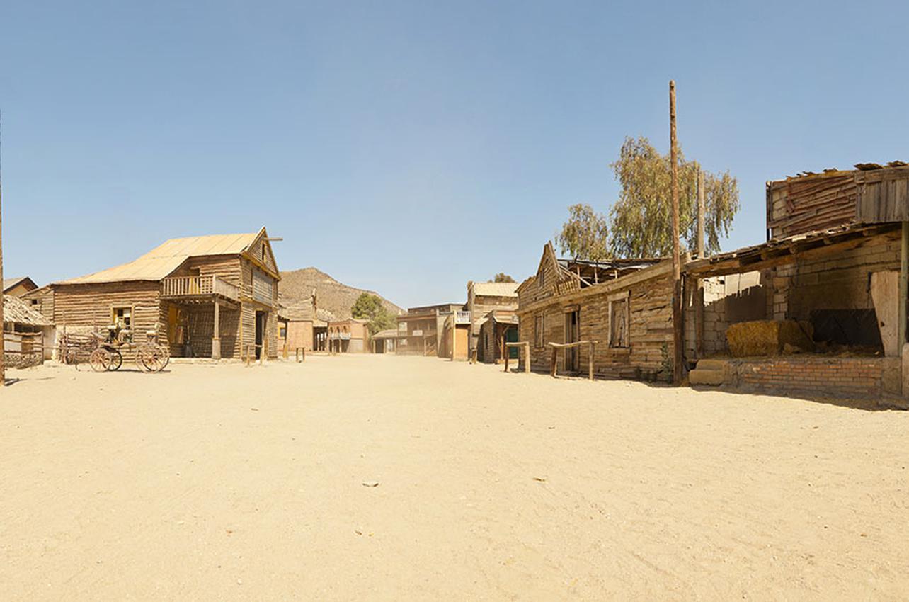 Aquí se respira olor a 'western'