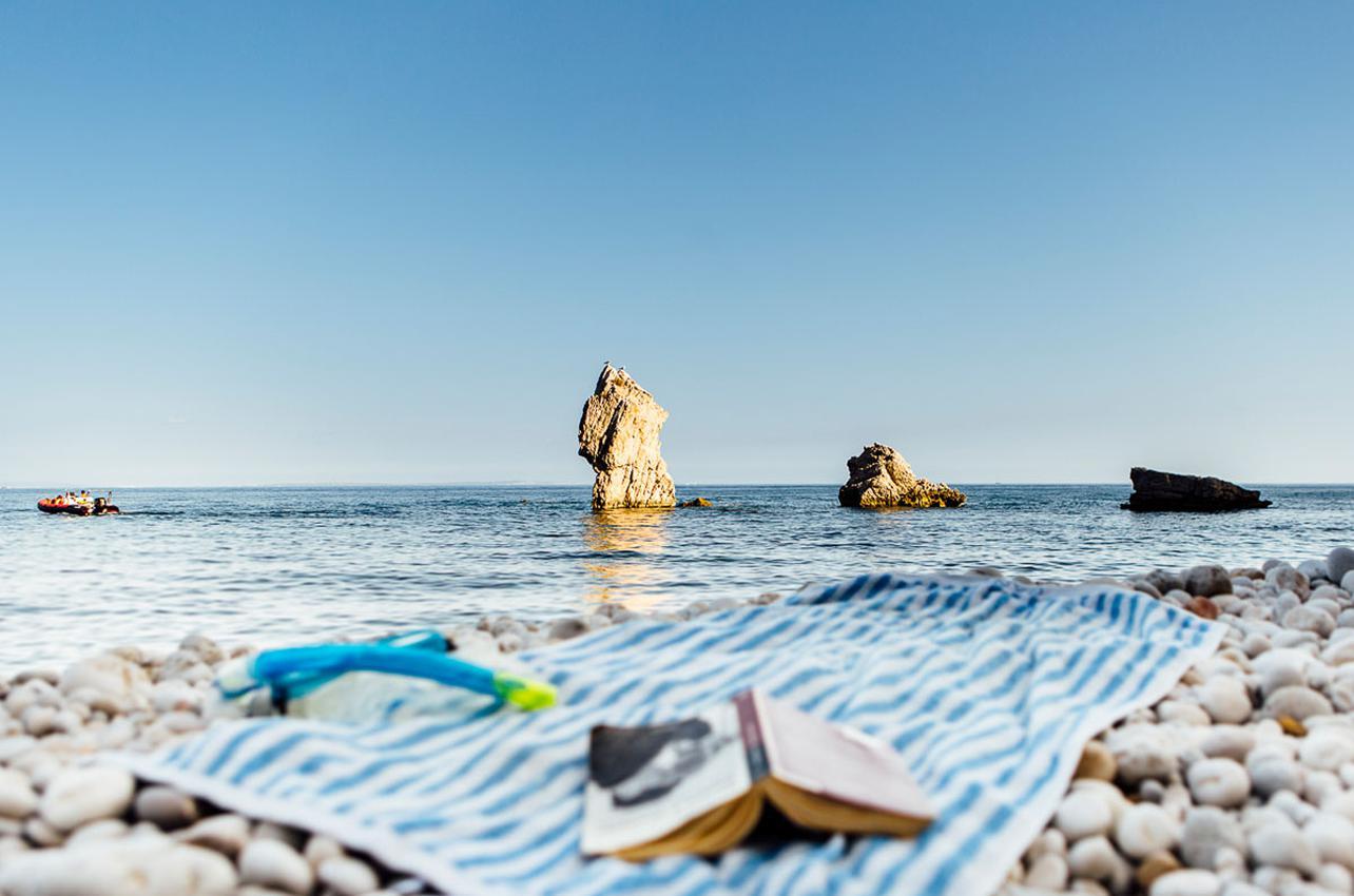 Una playa de leyendas.