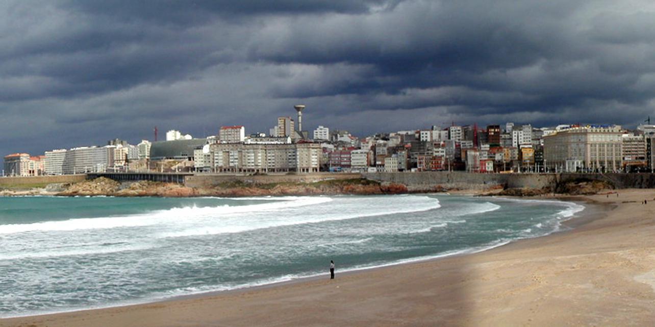 Playa de Orzán