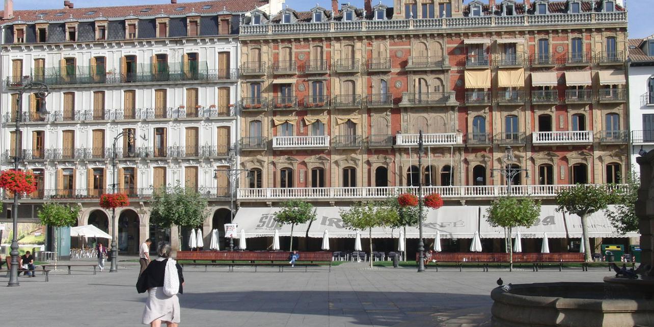Plaza del Castillo en Pamplona