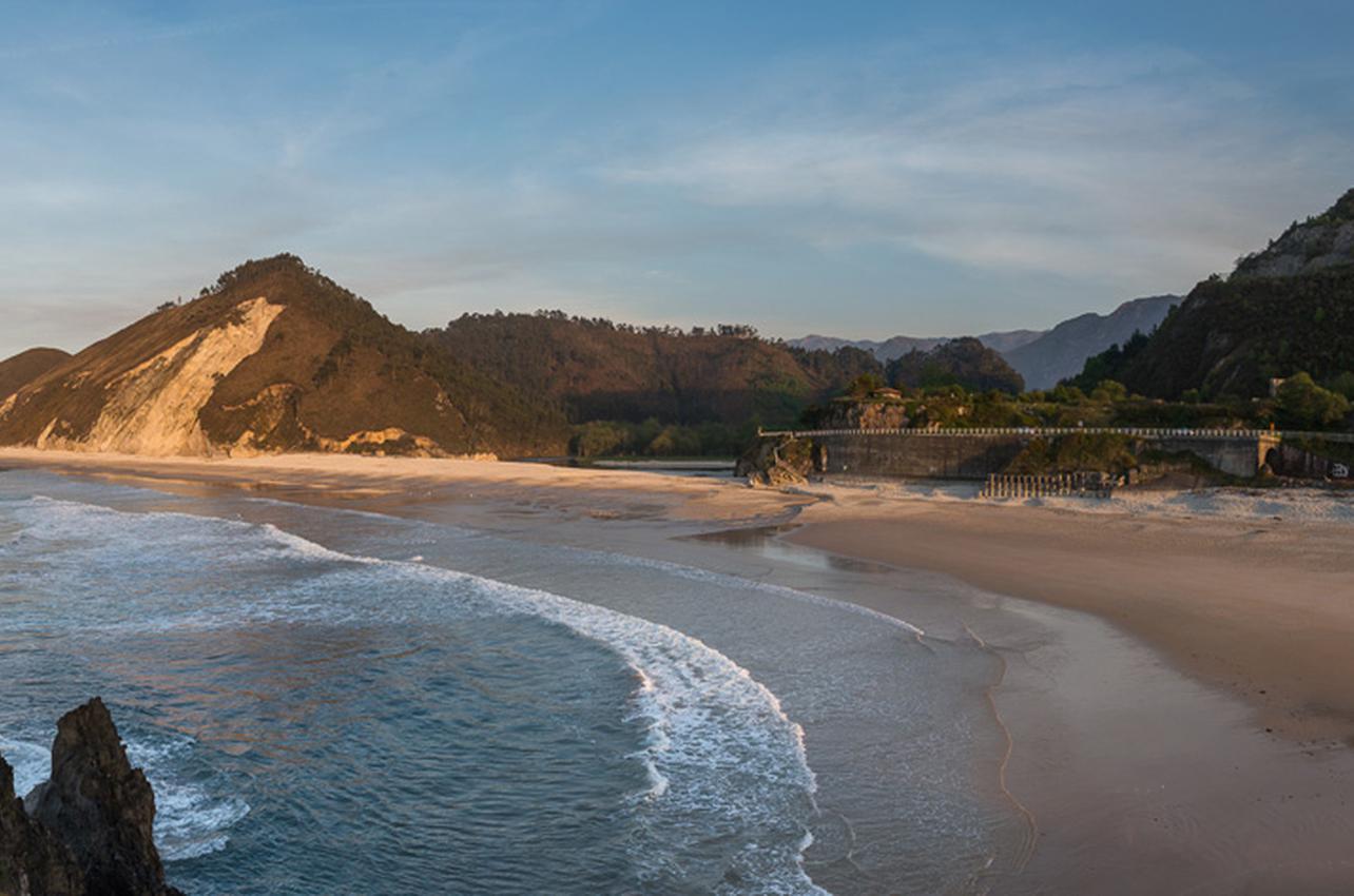 Playa de San Antolín. Foto: José Ramón García.