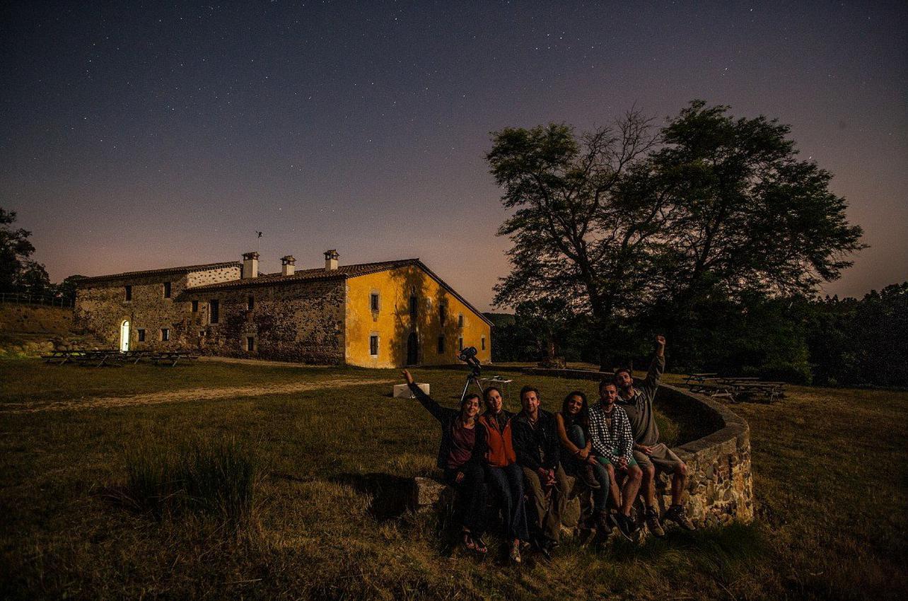 Observación astronómica en el Collsacabra para grupos