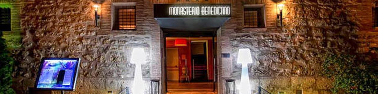 Luz de Led - Hotel Monasterio Benedictino