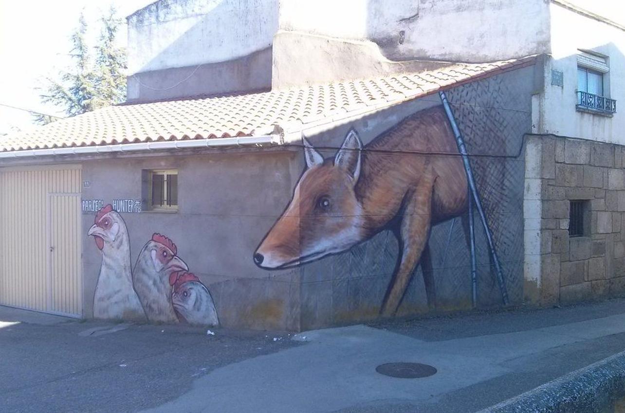 El lobo y las gallinas, de Parsec! en Castrogonzalo. Foto: Henar Orteg
