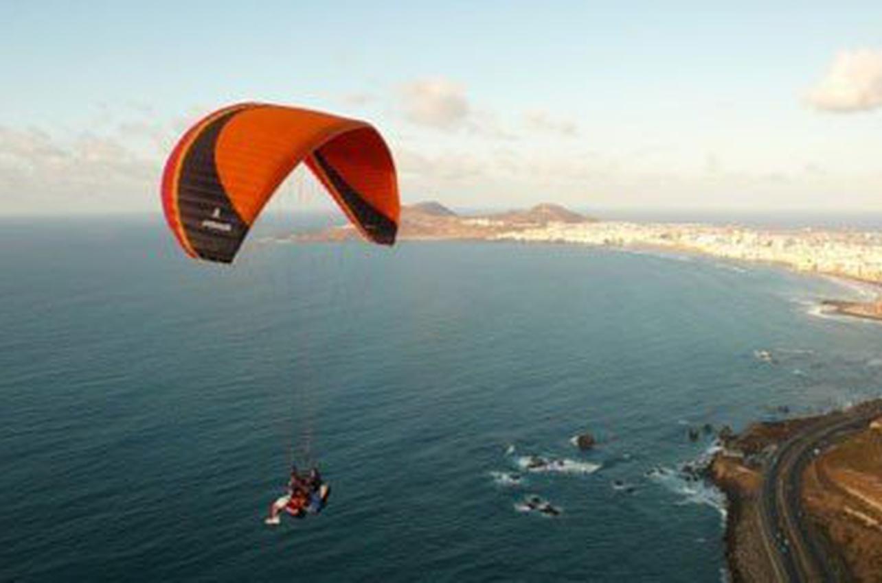 Parapente biplaza en Gran Canaria