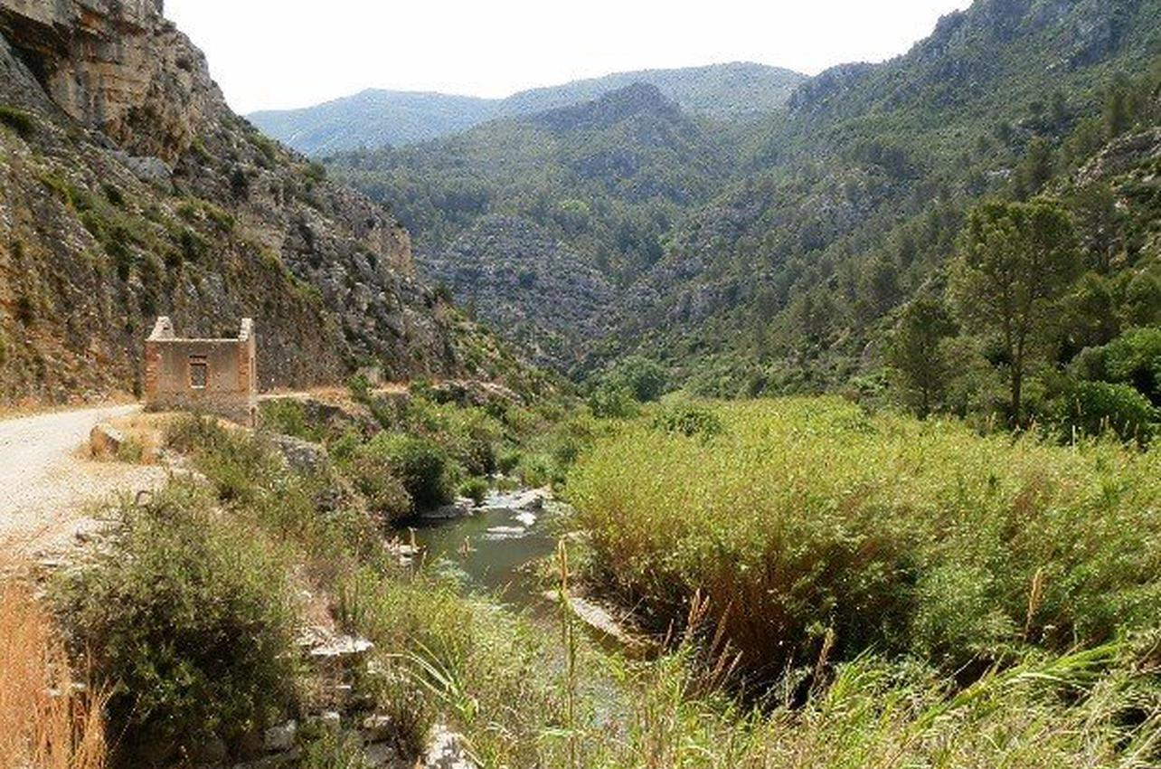 2 vías verdes del Mediterráneo en bicicleta