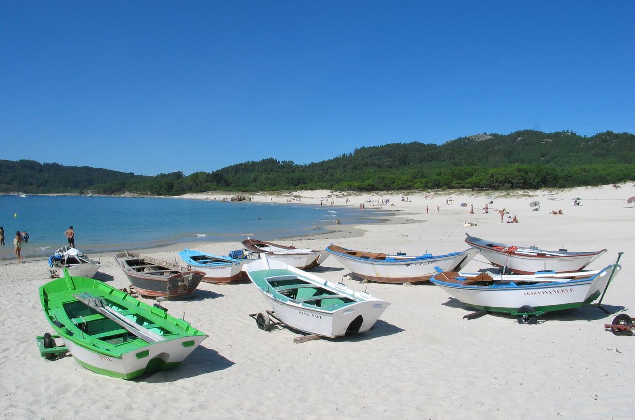 Playa de Nerga.