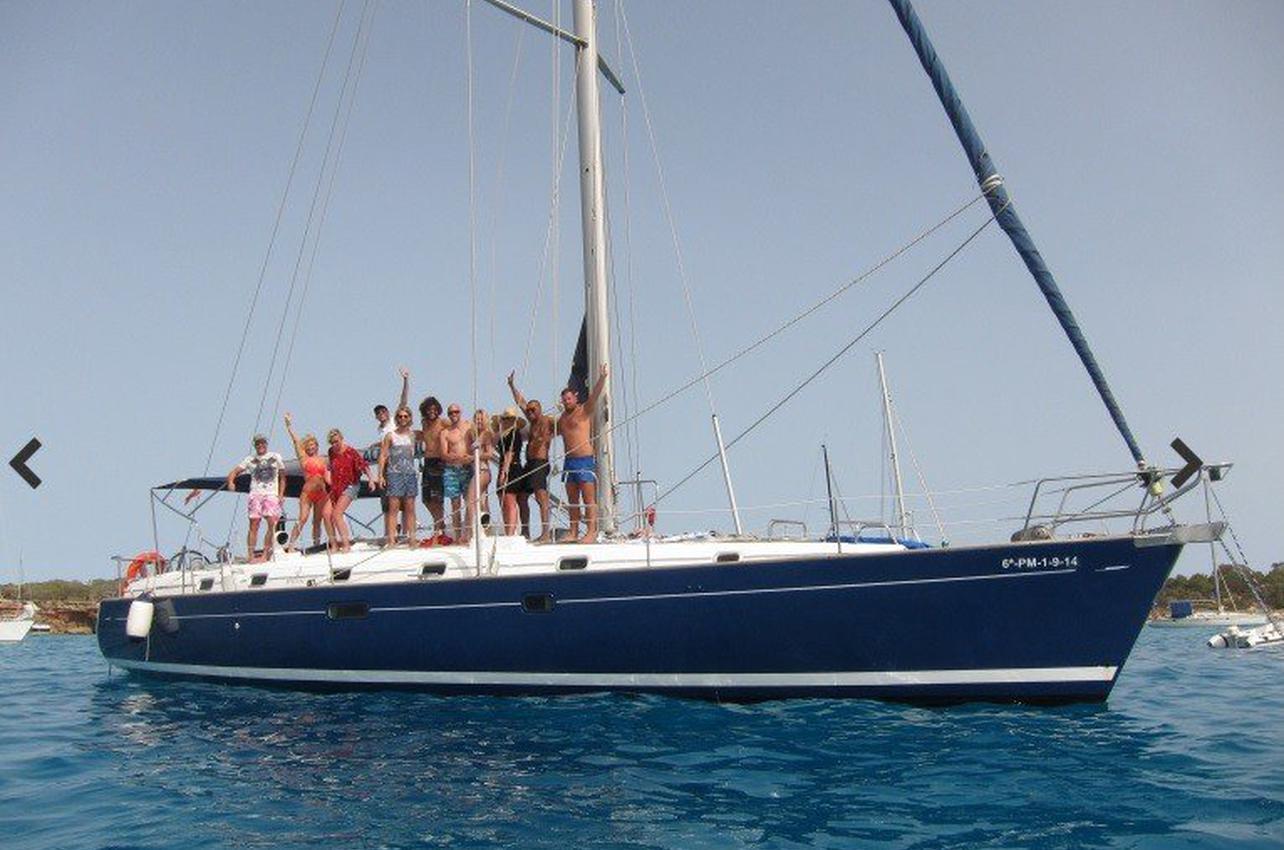 Navegación con patrón por las Islas Baleares