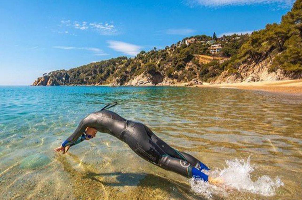 Natación en aguas abiertas en Tossa de Mar
