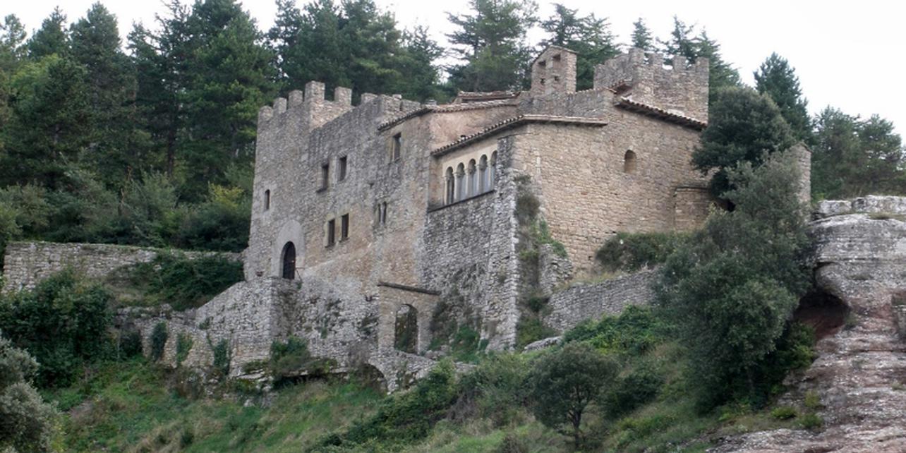 Monasterio castillo de Sant Llorenç del Munt