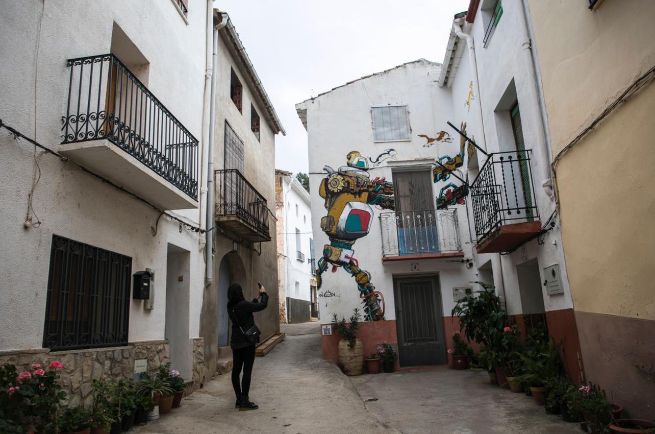 Las calles de Fanzara son perfectas para capturar recuerdos. Foto: Eva Máñez