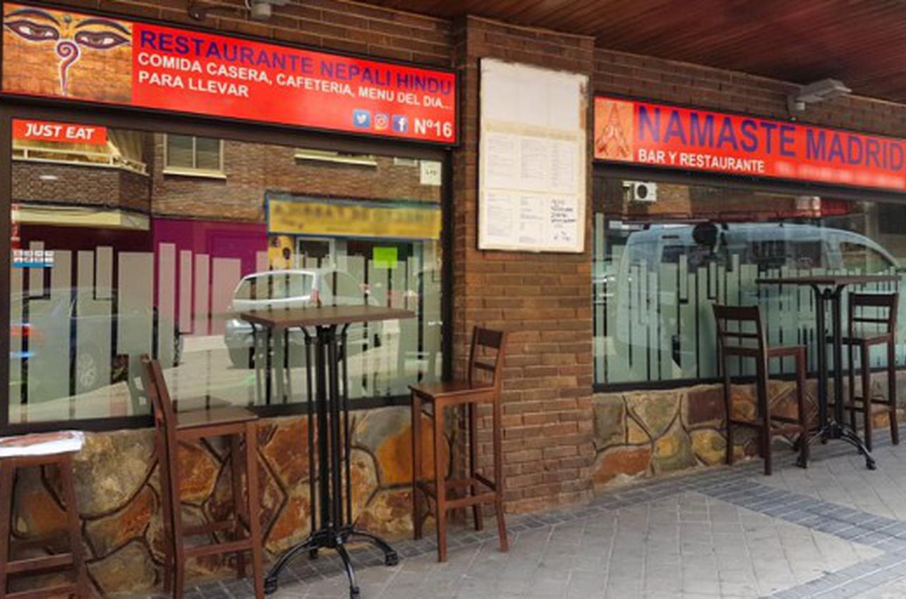 Namaste Madrid Nepali y Hindu