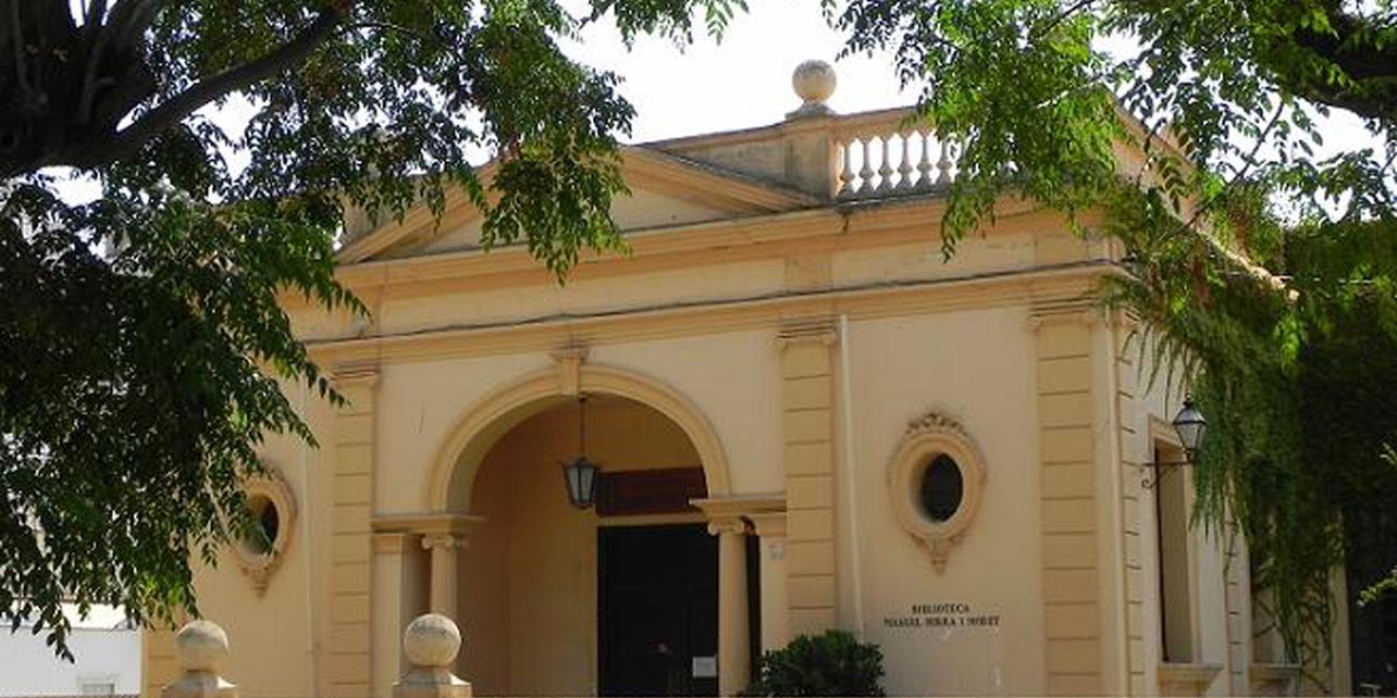 Antigua biblioteca Manuel Serra i Moret
